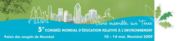 5e congrès mondial d'éducation relative à l'environnement